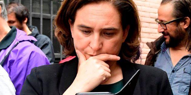 La alcaldesa de Barcelona, Ada Colau, el pasado