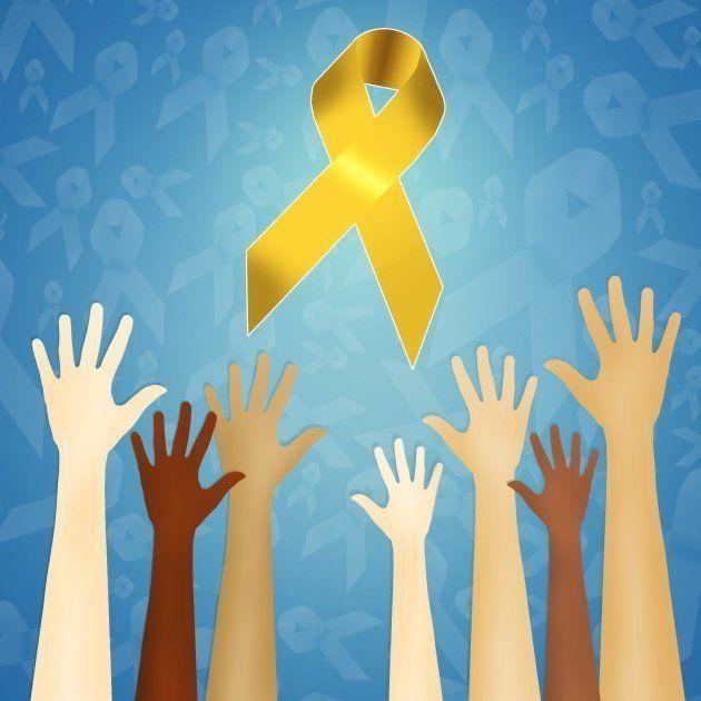 El lazo amarillo es el símbolo de este Día Mundial contra la