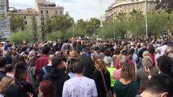 Manifestaciones en Cataluña contra la violencia policial del 1 de
