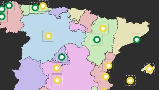 El mapa del poder de las candidaturas de unidad popular tras el