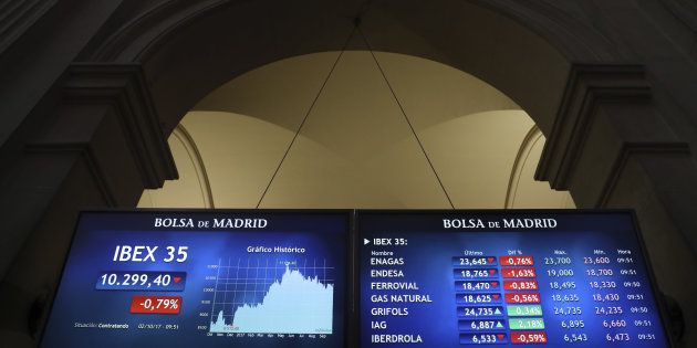 Banco Sabadell se deja un 4,5% en Bolsa y el Ibex 35 pierde un 1,21% por el