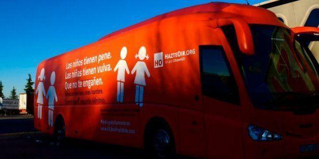 La genial respuesta de un colegio de Huelva al autobús tránsfobo de Hazte