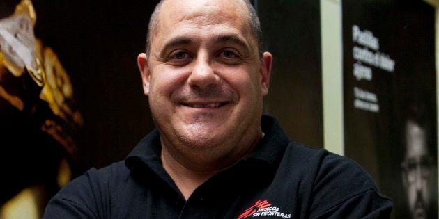 Aitor Zabalgogeazkoa, representante de Médicos Sin Fronteras (MSF) en