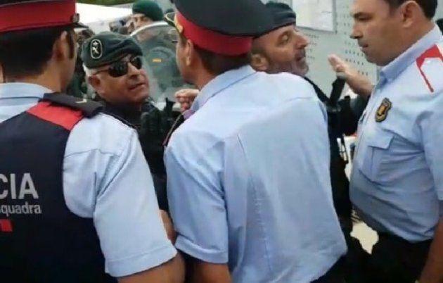 Por qué los Mossos y la Guardia Civil han acabado a