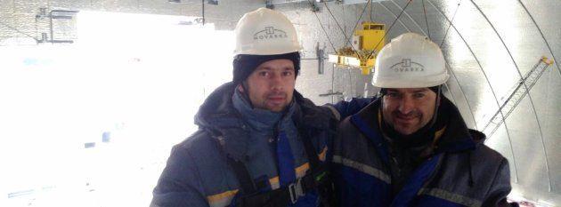 La vida de los cuatro españoles que han trabajado a 200 metros del reactor de