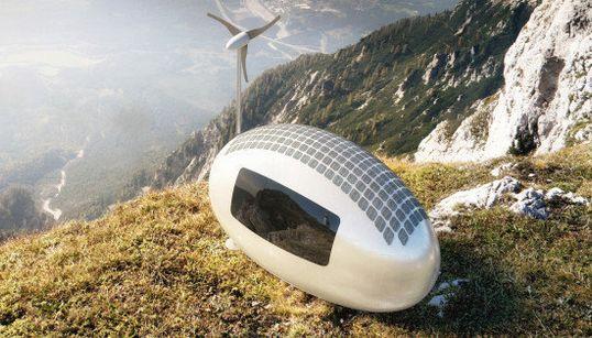 Esta casa-cápsula ecológica permite habitar casi cualquier lugar de la Tierra
