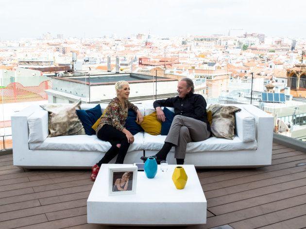 Bertín Osborne y Ana Torroja en el programa 'Mi casa es la