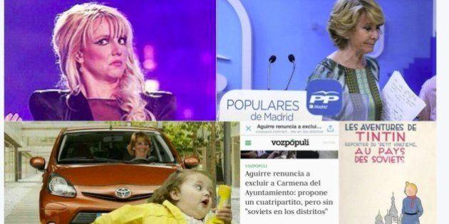 Esperanza Aguirre divierte a Twitter con su ocurrencia sobre