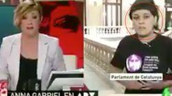 El 'zasca' de Cristina Pardo que dejó a Anna Gabriel con esta
