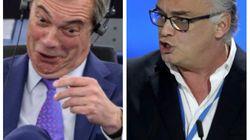 Tensión máxima entre el PP y Farage en el Parlamento Europeo por la crisis en