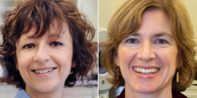 Las bioquímicas Emmanuelle Charpentier y Jennifer Doudna, premio Princesa de Asturias de Investigación...