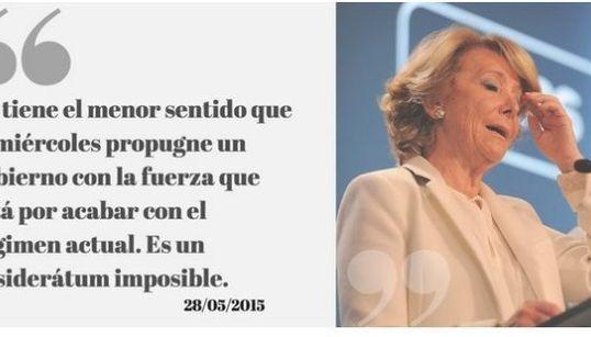 13 frases en las que Aguirre dice una cosa y luego la