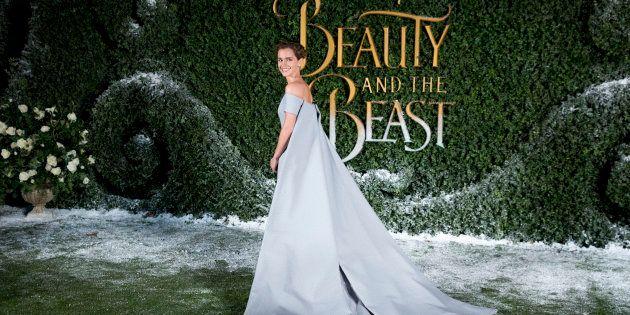 Emma Watson en un evento de 'La Bella y la
