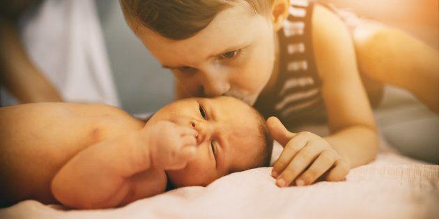 Nunca pensé que a mi hijo mayor le afectaría tanto el nacimiento de su