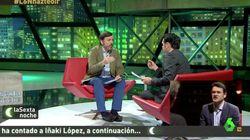 La tensa entrevista de Iñaki López al presidente de Hazte