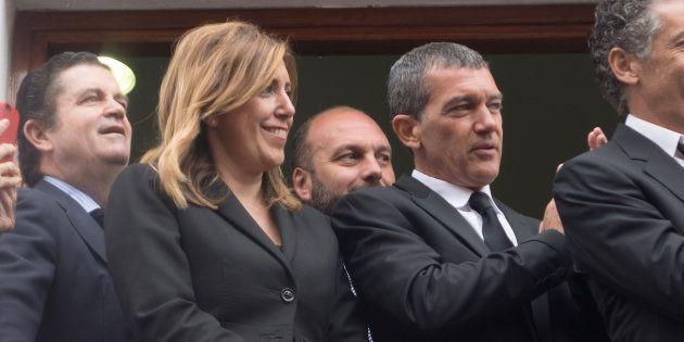 Susana Díaz y Antonio