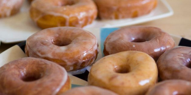 TORONTO, ON - MARCH 1: Hot Glazed Donuts (Keith Beaty/Toronto Star via Getty