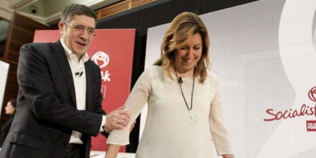 Los posibles pactos enfrentan a Patxi López y Susana