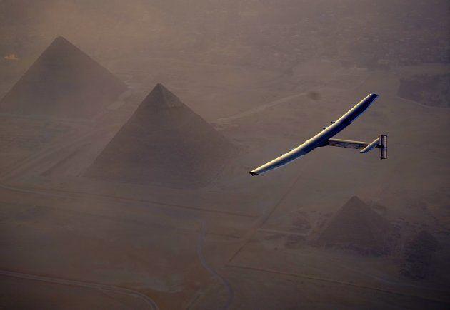 (Photo by Jean Revillard / Solar Impulse 2 / Pool/Anadolu Agency/Getty