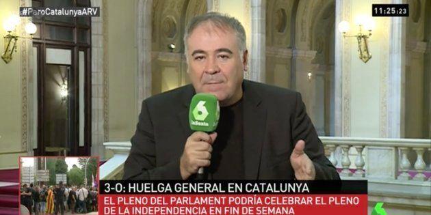Ferreras recibe insultos y amenazas de muerte en
