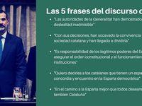 Las 5 Frases Del Discurso Del Rey El Huffington Post