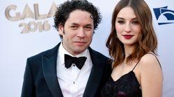 La actriz María Valverde y el músico Gustavo Dudamel se han