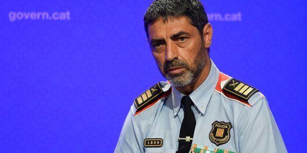 Josep Lluis Trapero, mayor de los Mossos