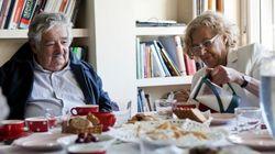 El encuentro entre Manuela Carmena y José Mujica (FOTOS,