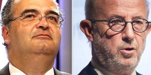 Ángel Ron y Emilio Saracho, expresidentes del Popular, ahora investigados por la Audiencia