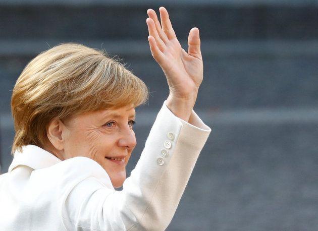 La canciller alemana, Angela