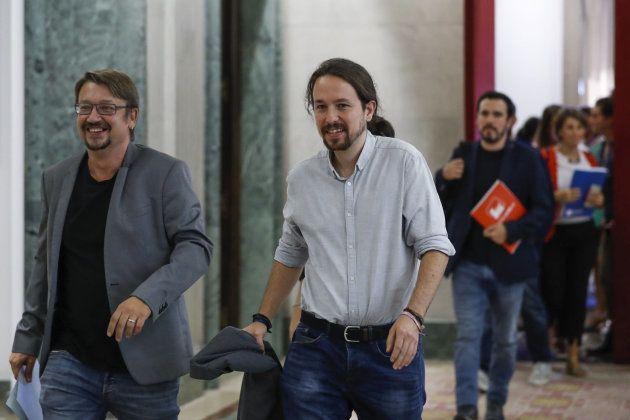 El secretario general de Podemos, Pablo