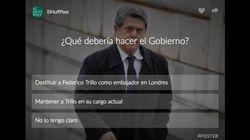 ¿Qué debería hacer el Gobierno con Federico Trillo?