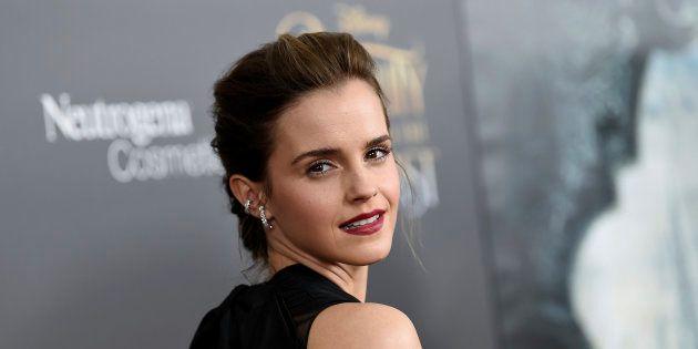 Emma Watson durante la premiere de 'La Bella y la Bestia' en Nueva