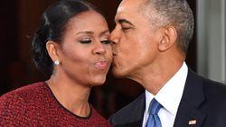 El romántico sorpresón de Barack Obama a Michelle por su 25º