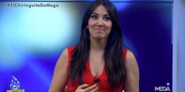 Irene Junquera durante el programa 'El Chiringuito de Jugones', en