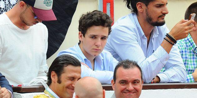 Felipe Juan Froilán de Marichalar y Borbón durante una feria taurina en