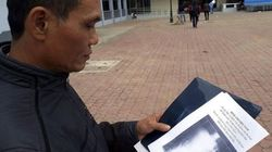Un vietnamita vive con una tijeras en el estómago durante 18