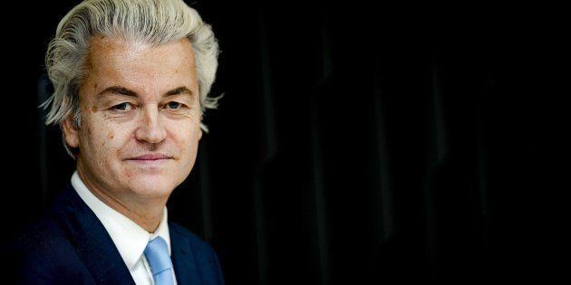 El líder de la ultraderecha holandesa Geert Wilders posa en La Haya (Países Bajos). ROBIN VAN LONKHUIJSEN