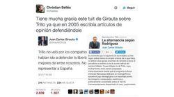 La respuesta de Girauta (C's) a este tuit viral que evidencia su cambio de