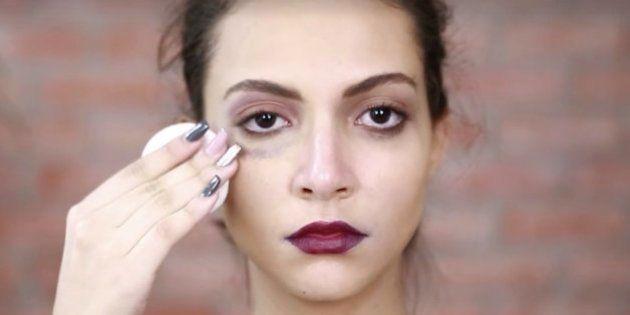 Un 'tutorial de belleza' para luchar contra la violencia machista en