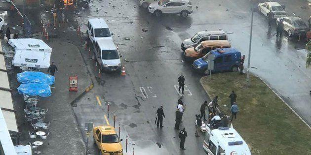 Dos muertos por un coche bomba en la ciudad turca de