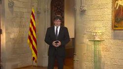 ¿Cómo ha sentado e interpretan el discurso de Puigdemont los suyos y los