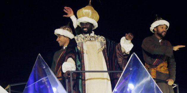 Los Reyes Magos de Madrid recuperan su vestimenta clásica tras las críticas del año