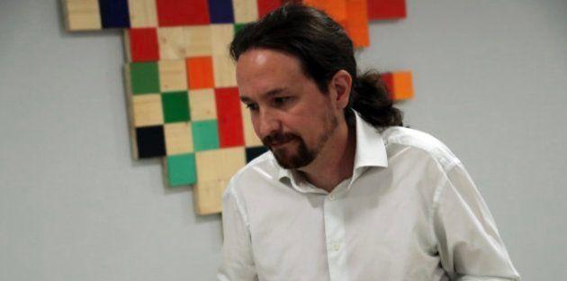 El líder de Podemos, Pablo Iglesias, el pasado