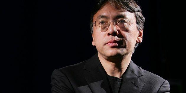 Kazuo Ishiguro en una entrevista con Reuters en Nueva York, el 20 de abril de