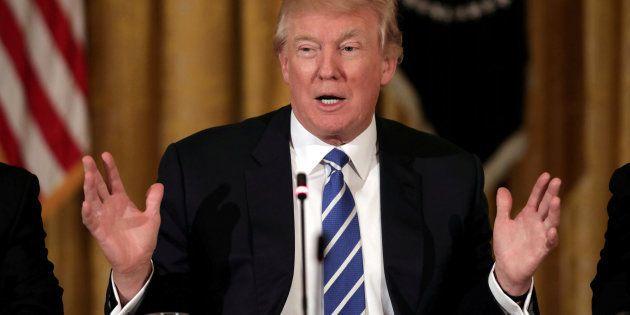 Imagen de archivo del presidente de EEUU, Donald