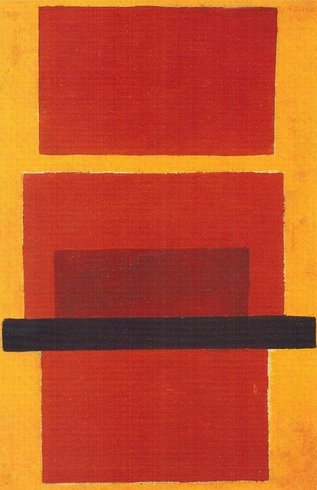 'Composición no objetiva', Olga Rozanova,