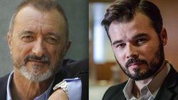 Gabriel Rufián critica estas palabras de Pérez-Reverte sobre el