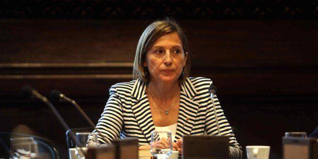 Imagen de archivo de la presidenta del Parlament, Carme