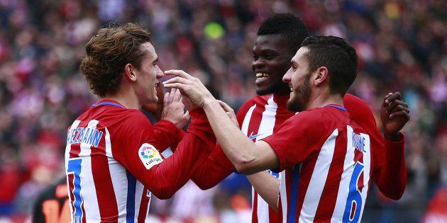 El Atlético pasa a cuartos de la Champions sin